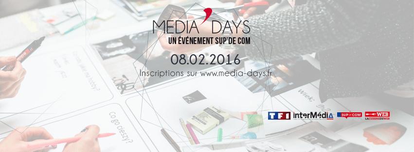 Media'Days : au menu facebook, CES, Objets Connectés et TF1.