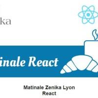 Matinale React